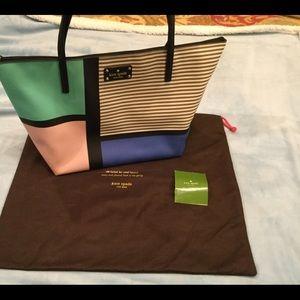 Kate Spade roomy bag, laptop ready, EUC tags/dust